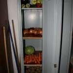 May - veg cupboard