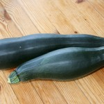 July - courgettes